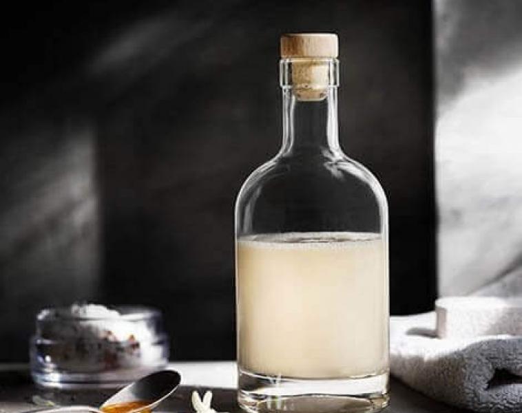 Body wash med melk og honning