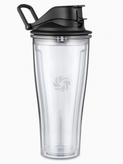 Flip top reise cup / Smoothie flaske 0,6L