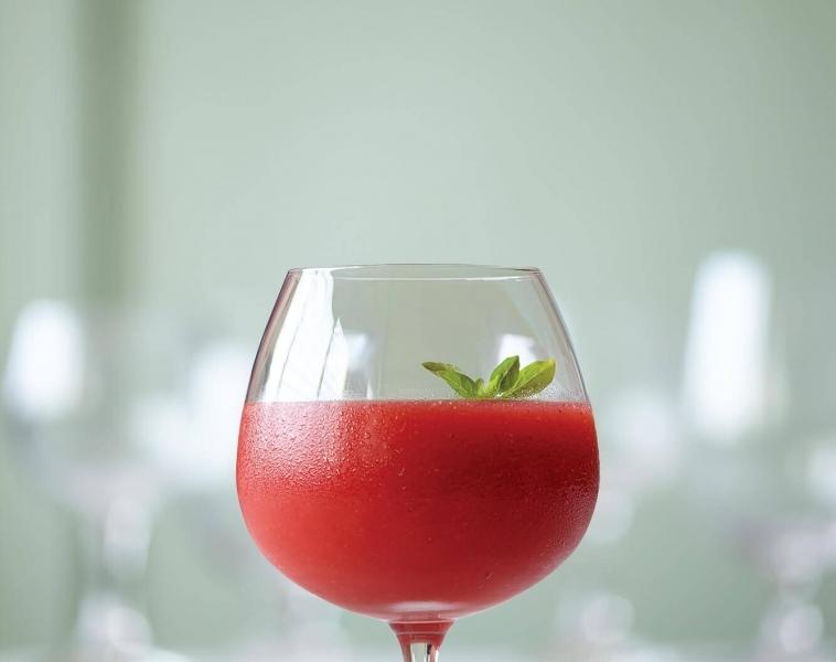 Agua Fresca med jordbær