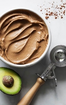 Chocolate Avocado Freeze