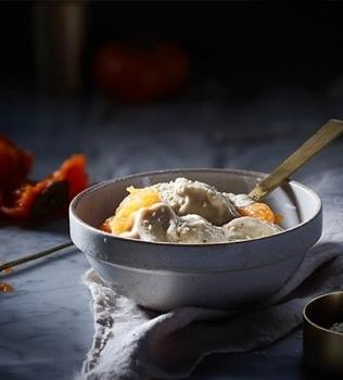Nice Cream med Sesamfrø