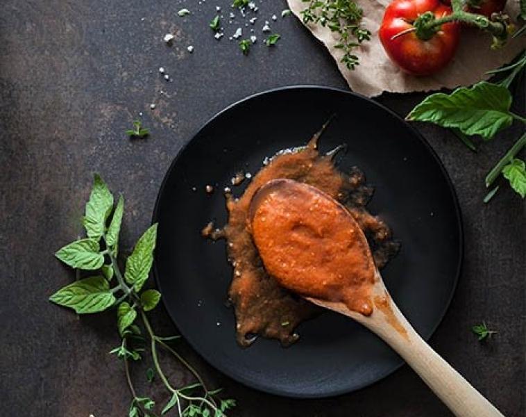 Enkel Tomat Saus