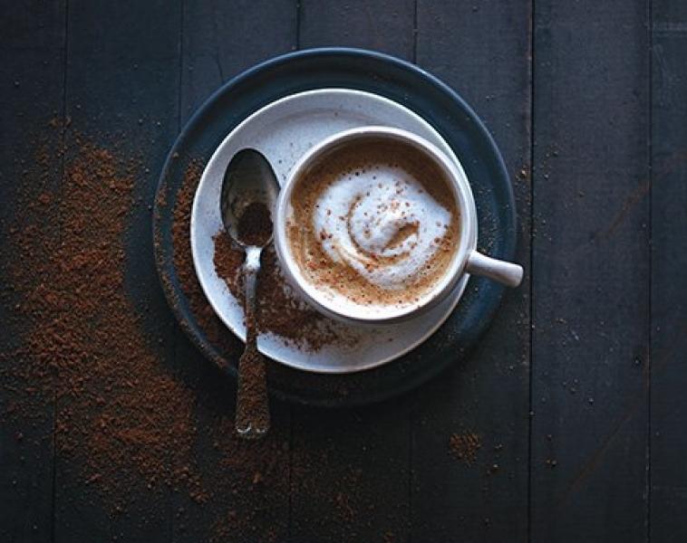 Varm Gresskar Latte