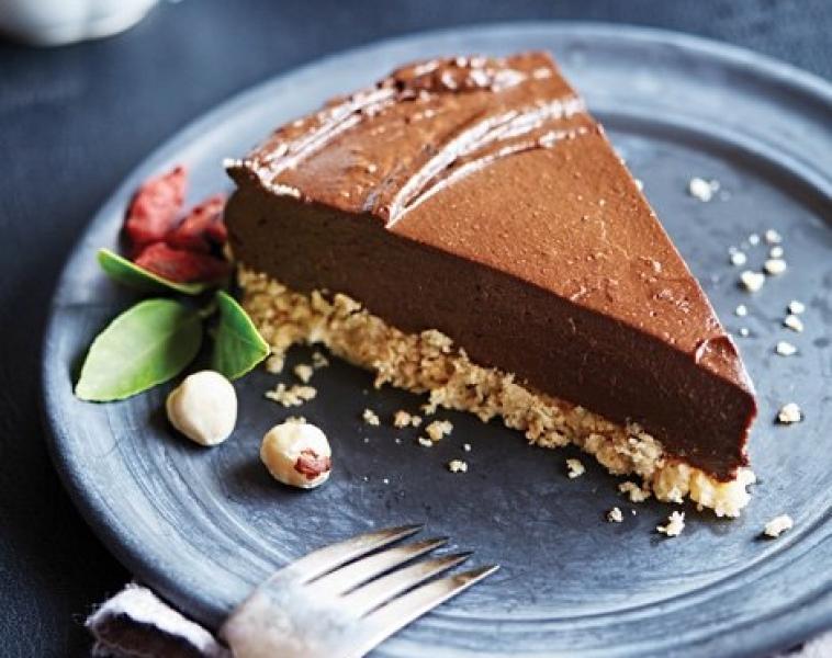 Vegansk Avokado Sjokoladekake